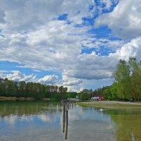 """""""Дарован день и облака пушистые, И голубое небо надо мной....""""... :: Galina Dzubina"""