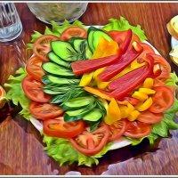 Веганский салатик :: muh5257