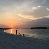 Мальдивы.Закат. :: Татьяна Калинкина