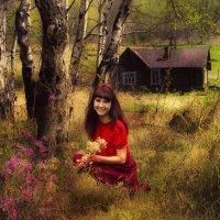 У лесной сторожки :: Майя Морозова