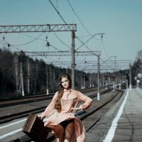 На перроне... :: Olga Kramoreva