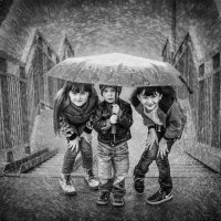 дождик :: Ольга Сапцина