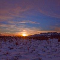 Закат над байкальским берегом :: Анатолий Иргл