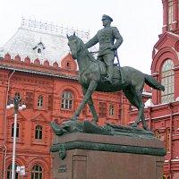 Маршал Победы. Красная площадь. Москва :: Валерий Подорожный