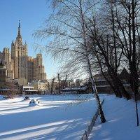 в морозный денёк :: Олег Лукьянов