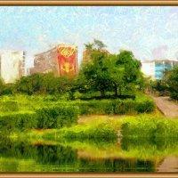 Город у моря. :: Анатолий Чикчирный
