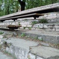 Некрасивый интерьер стадиона по ул. 3-е почтовое в Люберцах. :: Ольга Кривых