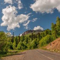 Гора Нагой-Кош летом, высшая точка хребта Каменное море :: Аnatoly Gaponenko