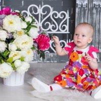Малышка Ксюша 10 мес :: Виктория Жуланова