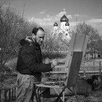 Люди за работой - художник :: Дарья Блохина