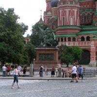 Памятник Минину и Пожарскому. Москва :: Валерий Подорожный