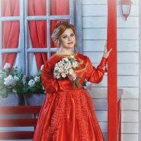Ledy in red :: Татьяна Мордасова