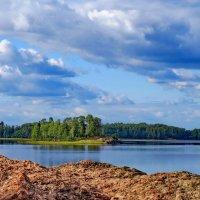 Парк Монрепо - вид на остров Любви :: Светлана