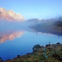 синий туман похож на обман :: Elena Wymann