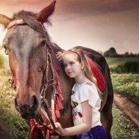 Фото-проект с лошадьми :: Евгения