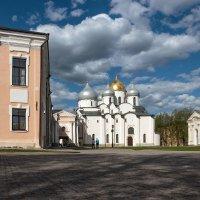 В новгородском кремле. Софийский собор :: Евгений Никифоров