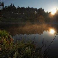 Лесное озеро уже не спит... :: Александр Попов
