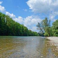 Майский день у реки... :: Galina Dzubina
