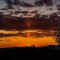 Луч заката золотой. :: Владимир Безбородов