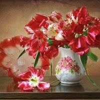 Пламя тюльпанов. :: alfina