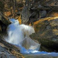 Река Водопадная :: Михаил Баевский