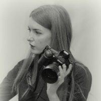 Девушка и Nikon :: Константин Шарун