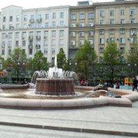 Москва, весна, фонтан. :: Мила