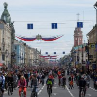 Велопарад по Питерски... :: tipchik