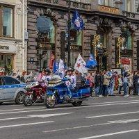 Чемпионский парад СКА 2017(байкеры 1) :: Valerii Ivanov