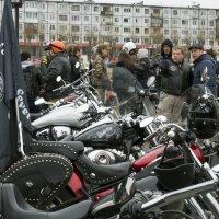 Северодвинск, открытие мотосезона (1) :: Владимир Шибинский