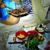 Ночной завтрак на берегу Чёрного моря :: Кай-8 (Ярослав) Забелин