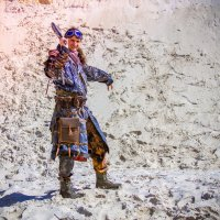 Воин пустоши :: Albertik Baxton