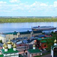 Вид на Волгу :: Владимир Андреевич Ульянов