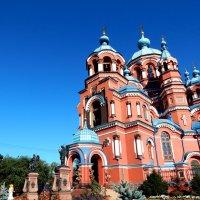 Церковь Казанской Божьей Матери. XIX в. :: Оксана Тарасенко