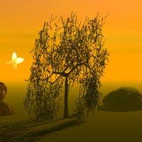 в тумане :: linnud