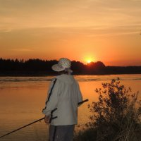 закат на Катуни :: kaban-4eg Алтайский