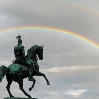 Памятник Николаю I на Исаакиевской площади :: максим лыков