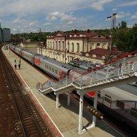 Застоялся мой поезд в депо... :: Виктор Стельник