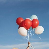 воздушные шарики :: Сети Ачмизова