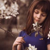 нежные ноты яблоневого цветения :: Евгения Рузанова
