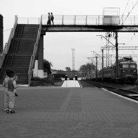 Провожая поезда :: Игорь Колеснёв
