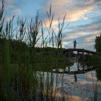 Рыбак, закат :: Николай Фокин