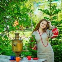 у самовара :: Tatyana Belova