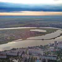 Новый город на закате :: Алексей Меринов
