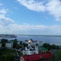 Там, где Волга встречается с Окой :: Ольга НН