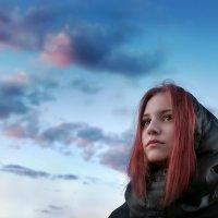 Девушка и облака.. :: Андрей Войцехов
