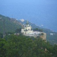Крым. Церковь в Форосе :: Наталия П