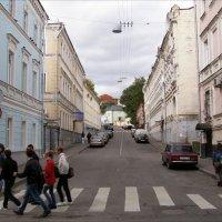переулки старой Москвы :: Анна Воробьева