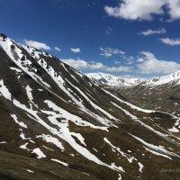 Восхождение на Большой Алматинский пик. :: Anna Gornostayeva