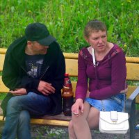 Как-то по проспекту с Манькой я гулял..:) :: Андрей Заломленков